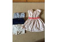 French connection dress and gap shorts bundle 3-4