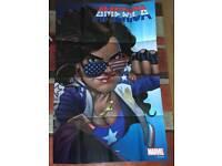 Large Marvel (Avengers) promo poster. 2017
