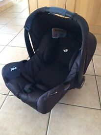Joie baby car seat (rear facing)