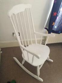Solid wood rocking chair rocky