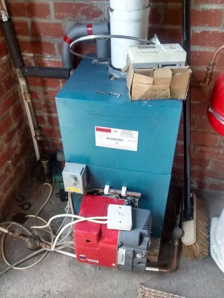 Warmflow b1 oil boiler and burner | in Antrim Road, Belfast | Gumtree