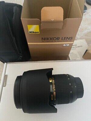 Nikon FX 24-70mm f/2.8G ED AF-S Telephoto Lens