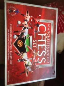 Manchester United chess set