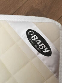 FREE: Obaby 140 x 70cm Sprung Cot Bed Mattress & fitted sheet, with Thomas duvet & pillow set