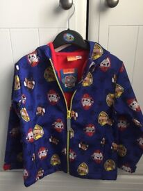 Children's Paw Patrol Coat. Brand new with Tags age 4-5. (I'd say more 3-4, it's on the small side)