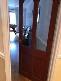 Internal Solid Wood Doors - glazed x2
