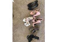 Women's size 5 heels