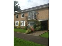 Large two bedroom apartment in pretty suburban village close to M42