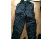 Fishing trousers Extra warm with braces