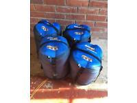 Vango Wilderness 250 sleeping bags x4