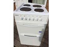 Beko 50cm cooker with separate grill