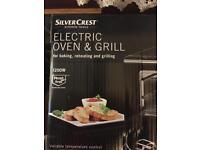 Electric oven grill