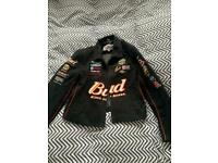 Vintage Nascar Budweiser Jacket