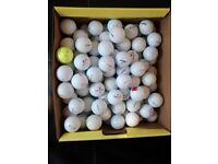 100 Mixed Golf balls. Grade A.