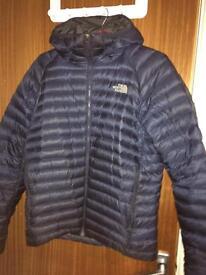 Northface navy M/l puffer jacket
