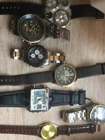 Joblot of men's watches (Can post)