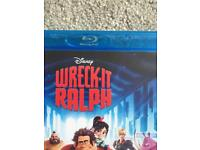 Wreck it Ralph blu ray