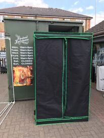 Cheshunt Hydroponics Store - used 1.2 x 1.2 x 2m Matrix grow tent