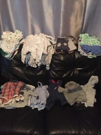 Boys clothes 0 - 3 to 12 - 18 months (£50 per bundle)