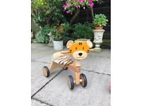Tiger 🐯 scooter (wooden)