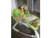 Fisher Price Rainforest Newborn to toddler rocker/bouncer