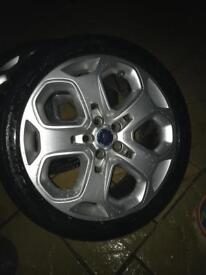 """Ford 18"""" alloy wheels and tyres"""