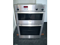 Bosch Full Size Double Oven Integrated, Built in Electric Cooker