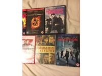 Action dvd collection for sale