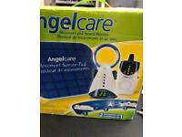 Angel care with sound monitor and sensor pad
