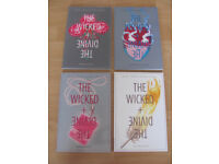 Image Comics 'Wicked and Divine' graphic novels 1-4 for sale Gillen McKelvie grt cdtn