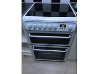 Virtually new electric cooker, double oven , Hotpoint . Perfect condition