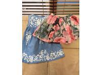 'next' summer dress & skirt age 7 years