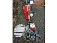 DRY FUSION ROTARY CARPET CLEANING MACHINE