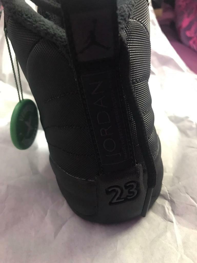 san francisco ffc40 fde31 Jordan 12 Retro Winter Black (GS) | in Heathrow, London | Gumtree