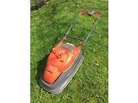 FLYMO VISION COMPACT 350 LAWN MOWER - USED BUT IN GOOD WORKING CONDITION
