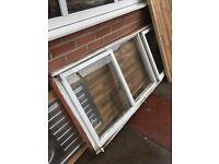 Wooden frame single glazed window