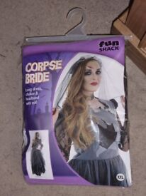 clothes costume Corpse Bride Womens Dress Up