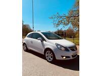 White Vauxhall Corsa 1.4 SXI
