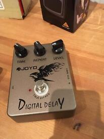 Joyo Digital Delay & Berhinger Tuner