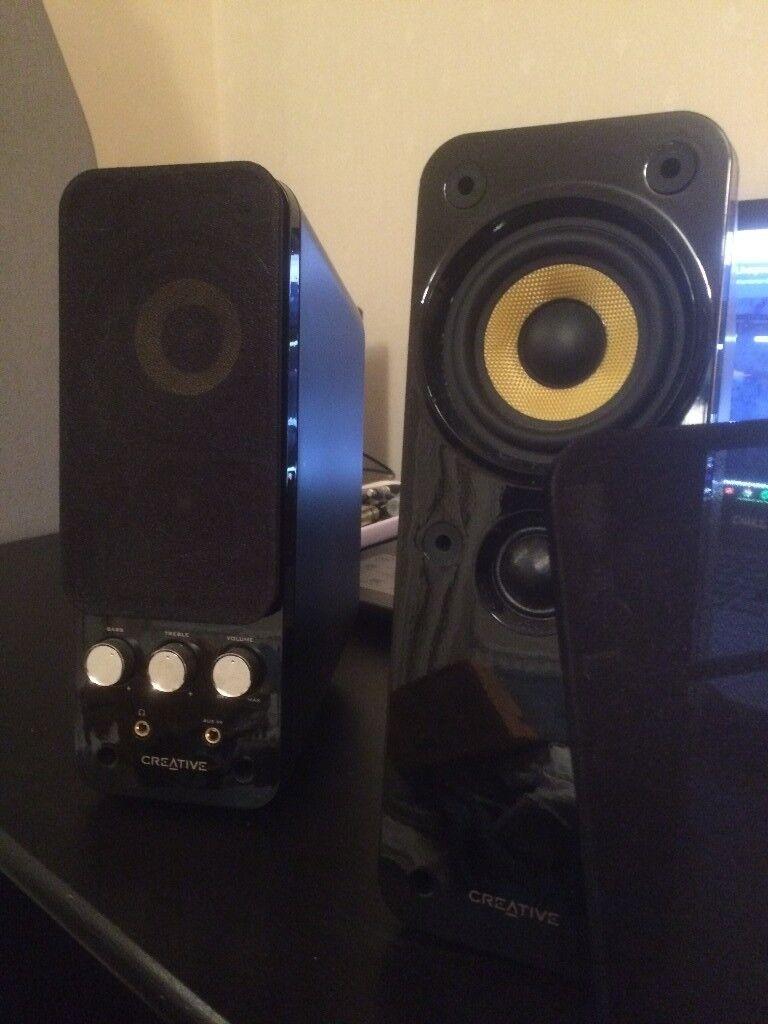 Creativeworks T20 Series II PC/laptop/Mac/MP3 speakers