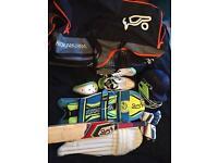 Full Adult Kookaburra Cricket Set