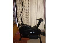 Opti 2 in 1 Cross Trainer and Exercise Bike