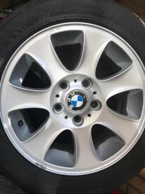 4 BMW Tyres and Alloys