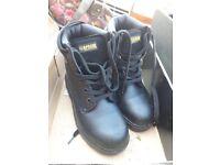 Steel Toe Cap boots - size 3 - PPE workwear work