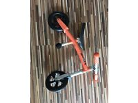 MICRO BALANCE BIKE - ORANGE . Outstanding condition (used once only!) £50
