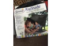 Rayshade sun shade for stroller