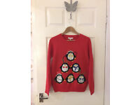 Ladies Christmas Jumper - Size 12 - Red Herring - Debenhams - BNWT
