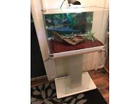 80L fish tank and stand