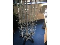 Free DVD / card swivel stands x2