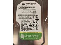 """WD 160gb SATA Hard drive 3.5"""" with connecting cable"""